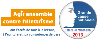 Illettrisme Grande cause nationale 2013